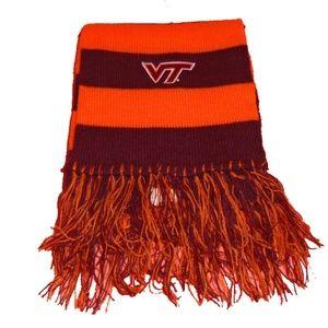 """VT Virginia Tech College NCAA Scarf 81"""" Long"""